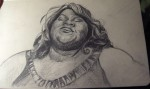 Gabourey Sidibe, star of Precious